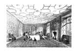 Dining Room, Levens, Westmorland, 1848 Giclee Print by Joseph Nash