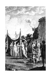 Procession at an Egyptian Wedding, from Niebuhr's 'travels Through Arabia and Other Countries',… Giclee Print by Daniel Lizars