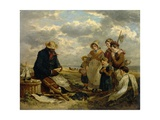 The Negro Boatbuilder, 1851 Giclee Print by William Parrott