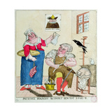 Patience Margot, it Will Soon Be 3 Times as Much, 1789 Giclee Print