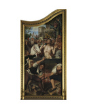 Altarpiece of the Guild of the Joiners Giclee Print by Quentin Massys or Metsys