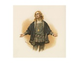 Hamlet Giclee Print by Harold Copping