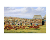 The Finish of the 1862 Derby, 1862 Giclee Print by Henry Junior Alken