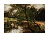 Pool at Polling, Bavaria, C.1880 Giclee Print by Frank Duveneck