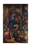 Christ Heals the Leper Giclee Print by Francesco Morandini