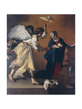 The Annunciation Giclee Print by Jan Janssens