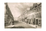 Milsom Street, from 'Views of Bath', C.1883 Giclee Print by R. Woodroffe