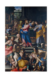The Calling of St Matthew Giclee Print by Giovanni Battista Naldini