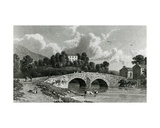 Greta Hall and Keswick Bridge, Engraved by E. Francis, 1842 Giclee Print by William Westall