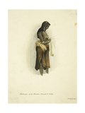 Kateegee of the Weema, Donakil Tribe, 1842 Giclee Print by Rupert Kirk
