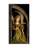 Cumaean Sibyl, from the Exterior of the Right Wing of the Ghent Altarpiece, 1432 Giclee Print by Hubert & Jan Van Eyck