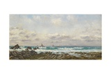 Boats at Sea, 1885 Giclee Print by William Lionel Wyllie