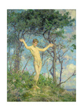 To the Morning Sun Giclee Print by Henry Scott Tuke