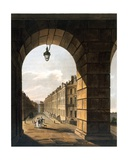 Street Scene, Bath Giclee Print by John Claude Nattes