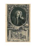 Alexander Pope Giclee Print by Jacobus Houbraken