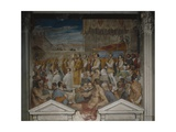 Procession of the Body of Saint Antoninus, 1589 Giclee Print by Domenico Cresti