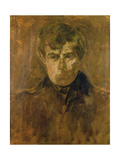 Portrait Sketch of Walter Sickert, 1895 Giclee Print by James Abbott McNeill Whistler