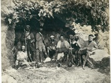 The Prince of Wales's Party at Ain-Et-Tin (Khan Minyeh), 1862 Photographic Print by Francis Bedford
