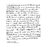 Letter from Gainsborough to Lord Hardwicke Setting Out His Opinions on the Painting of Nature and… Giclee Print by Thomas Gainsborough