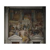 The Funeral of St Antoninus, 1589 Giclee Print by Domenico Cresti