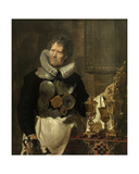 Portrait of Abraham Grapheus, 1620 Giclée-Druck von Cornelis de Vos
