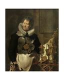 Portrait of Abraham Grapheus, 1620 Giclee Print by Cornelis de Vos