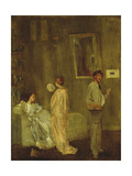 The Artist's Studio, 1865 Giclee Print by James Abbott McNeill Whistler