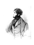 Alfred Guillaume Gabriel, Comte D'Orsay, 1833 Giclee Print by Richard James Lane