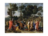 Ordination, C.1637-40 Giclee Print by Nicolas Poussin
