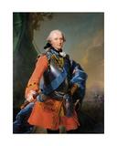 Prince Ferdinand, Duke of Brunswick-Luneburg, 1759 Giclee Print by Johann Georg Ziesenis
