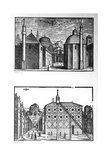 Streets and Mosques of Constantinople, 1570 Giclee Print by Melchior Lorck