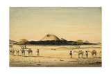 Crater Called Jebul Helmund Near Sooltulle, 1841 Giclee Print by Rupert Kirk
