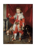 Portrait of a Boy, Traditionally Called Francois De Boisschot Giclée-Druck von Cornelis de Vos