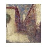 Street in Fontarabie Giclee Print by Odilon Redon