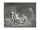 Inside an Egyptian Bathhouse, C.1820s Giclee Print by Dominique Vivant Denon