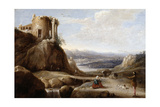A Ruined Temple, C.1620-38 Giclee Print by Charles-Cornelisz de Hooch