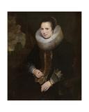 Elisabeth Hoegaerts Giclée-Druck von Cornelis de Vos