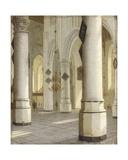 Church Interior Giclee Print by Hendrik Cornelisz. van Vliet