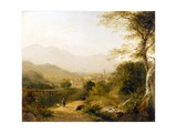 Italian Landscape Giclee Print by Joseph William Allen