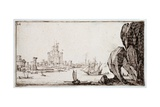 Harbour Giclee Print by Jacques Callot