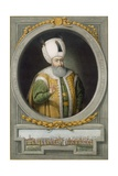 Sultan Suleiman Khan I, 10th Sultan of the Ottoman Empire, 1815 Giclee Print by John Young