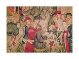 Detail of the Story of Jourdain De Blaye, Arras Workshop (Detail) Giclee Print