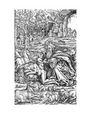 The Creation of Eve, from the Luther Bible, 1550 Giclee Print by Hans Brosamer