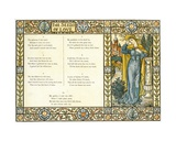 The Seeds of Love', Part 2 of a Traditional English Folk Song, Illustration from 'Pan-Pipes', a… Giclee Print by Walter Crane