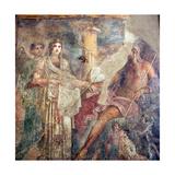 The Wedding of Zeus and Hera on Mount Ida, from the House of the Tragic Poet, Pompeii Giclee Print