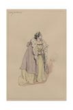 Lady Dedlock, C.1920s Giclee Print by Joseph Clayton Clarke