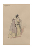 Lady Dedlock, C.1920s Lámina giclée por Joseph Clayton Clarke