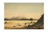 Jebul Abida and Aiullo from Sooltulle, 1841 Giclee Print by Rupert Kirk