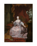 Portrait of Empress Maria-Theresa Giclee Print by Mathias de Visch