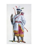 Nyai, Ruler of Bali, 1780 Giclee Print by Pierre Duflos